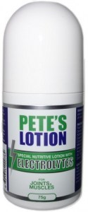 Petes Lotion with Electrolytes for Joints & Muscles Roll On 75g