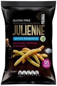 Piranha Julienne Active Probiotics Balsamic Vinegar & Sea Salt  24x25g