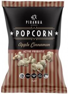 Piranha Popcorn Apple Cinnamon  24x25g