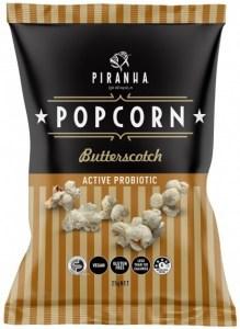 Piranha Popcorn Butterscotch  24x25g