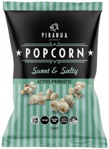 Piranha Popcorn Sweet & Salty  24x25g