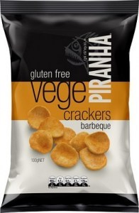Piranha Vege Crackers BBQ  100g