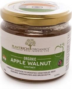 Plantrich Organics Organic Apple Walnut Chutney  350g