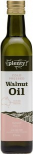 Plenty Cold Pressed Walnut Oil 375ml