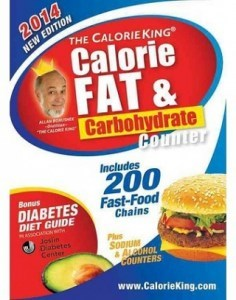 Pocket Calorie Fat & Carbohydrate Counter 2014, Allan Borushek