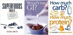 PRD 3 Book Pack (Superfoods Index,What's the GI,How much Carb How much Protein)