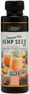 Pressed Purity Hemp Seed Oil G/F 250ml