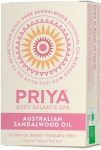 Priya Australian Sandalwood Oil Soap 100g