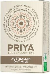 Priya Body Balance Bar Australian Oat Milk 100g