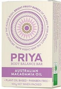 Priya Body Balance Natural Macadamia Oil 100g