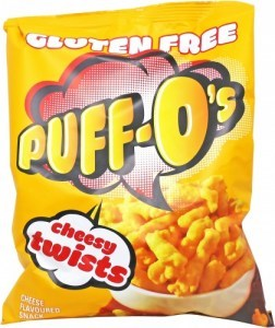 Puff-O's Cheesy Twists  6x90g