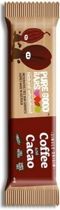 Pure Good Bars Single Origin Coffee & Cacao 20x40g