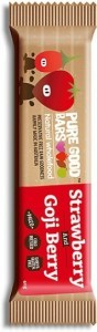Pure Good Bars Strawberry & Goji Berry 20x40g
