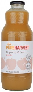 Pure Harvest Organic Apple Juice 1ltr x 6 (1 box)