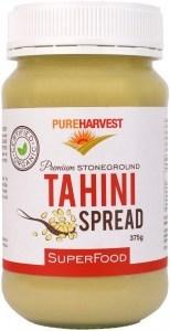 Pure Harvest Organic Tahini Dark Unhulled 375gm