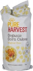 Pure Harvest Organic Thin Corn Cakes 150g