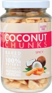 Pure Young Coconut Chunks Spicy 150g