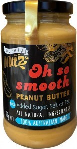 Purely Nutz 100% Natural Peanut Butter Smooth 375g