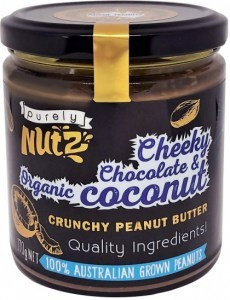 Purely Nutz Peanut Butter with Chocolate & Coconut 270g