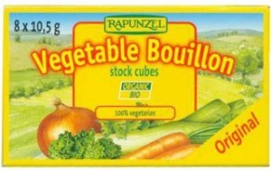 Rapunzel Original Vegetable Bouillon 8 Stock Cubes 10.5g