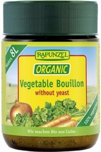Rapunzel Organic Vegetable Bouillon Powder Yeast Free 160g