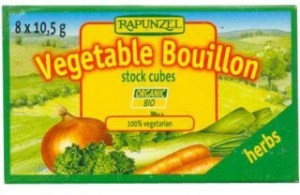 Rapunzel Herbs Vegetable Bouillon 8 Stock Cubes 10.5g