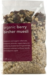 Real Good Foods Berry Bircher Muesli Bag 1.25kg