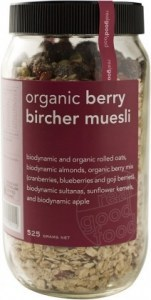 Real Good Foods Berry Bircher Muesli Jar 525g