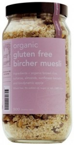 Real Good Foods Organic Gluten Free Bircher Muesli Jar 500g