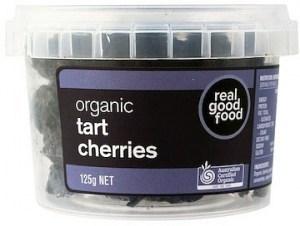 Real Good Foods Organic Tart Cherries Dried 125g