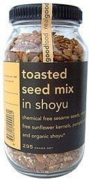 Real Good Foods Toasted Seed Mix in Shoyu Jar 295g