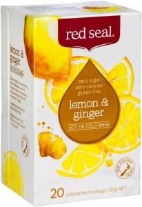 Red Seal (Hot & Cold Brew) Lemon & Ginger 20Teabags