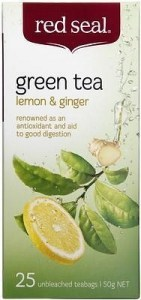 Red Seal Lemon & Ginger Green 25Teabags