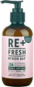 ReFresh Byron Bay 31 Lemon Myrtle Body Lotion 250ml
