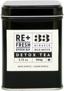 ReFresh Byron Bay 33 Wild Native Miracle Detox Tea 120g NOV20