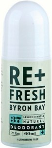 ReFresh Byron Bay 37 Lemon Myrtle Deodorant 60ml