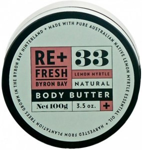 ReFresh Byron Bay 62 Lemon Myrtle Body Butter 100gm