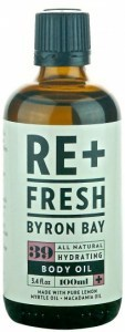 Refreshed Macadamia/Lemon Myrtle Massage Oil 100ml