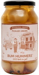 Riverina Grove Bum Hummers Pickled Onions  500g