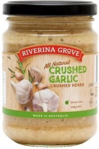 Riverina Grove Crushed Garlic  240g