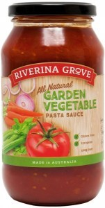 Riverina Grove Garden Vegetable Pasta Sauce  500g