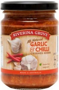 Riverina Grove Garlic & Chili Sauce  240g