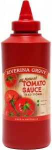 Riverina Grove Tomato Sauce  500ml