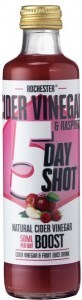 Rochester Cider Vinegar & Raspberry 5 Day Shot  250ml