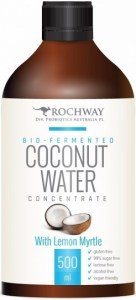Rochway Bio-Fermented Coconut Water with Lemon Myrtle  500ml