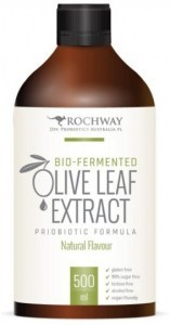 Rochway Bio-Fermented Olive Leaf Extract Probiotic Formula Natural 500ml