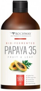 Rochway Bio Fermented Papaya 35 fruit & Leaf 500ml