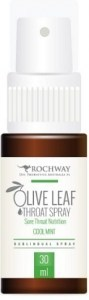 Rochway Olive Leaf Cool Mint Throat Spray 30ml