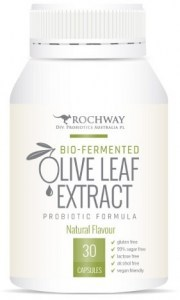Rochway Bio-Fermented Olive Leaf Extract Probiotic Formula 30caps