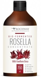 Rochway Bio-Fermented Rosella Concentrate with Hawthorn Berry 750ml